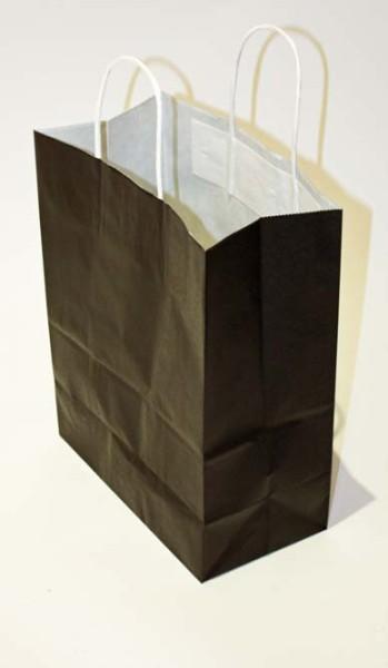 sac papier kraft noir spapf2330n. Black Bedroom Furniture Sets. Home Design Ideas
