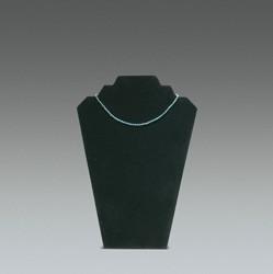 Présentoir collier velours noir